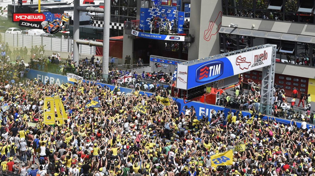 Mugello MotoGP 2015 Crowd