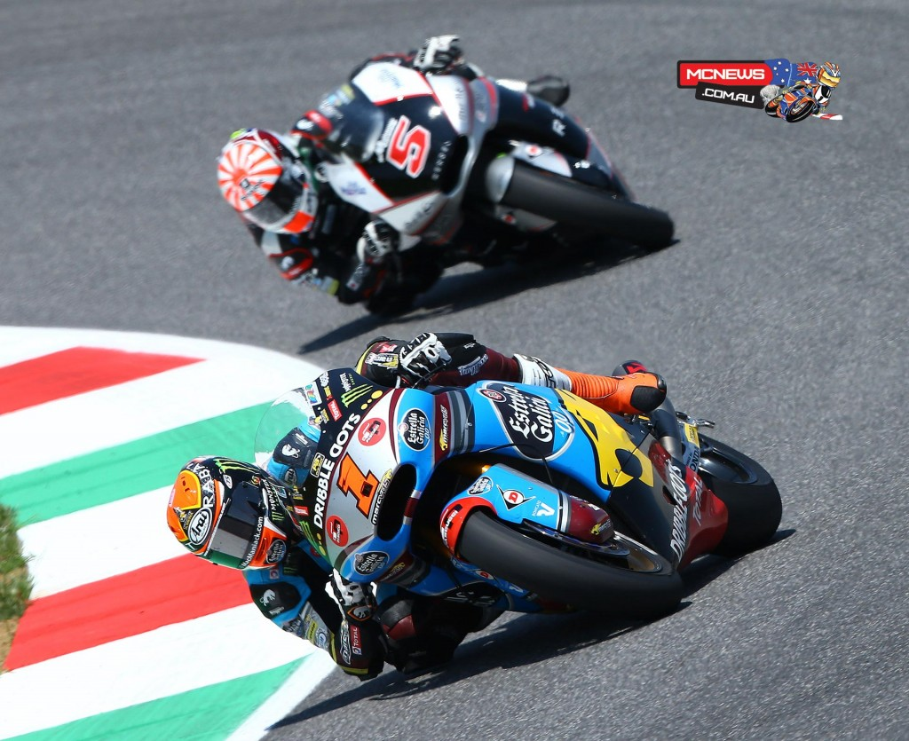 The Gran Premio d'Italia TIM saw Tito Rabat took his first victory of the 2015 season despite a late charge from Zarco.