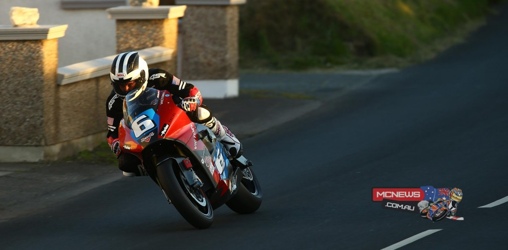 Victory Motorcycles TT Zero Electric Prototype - William Dunlop