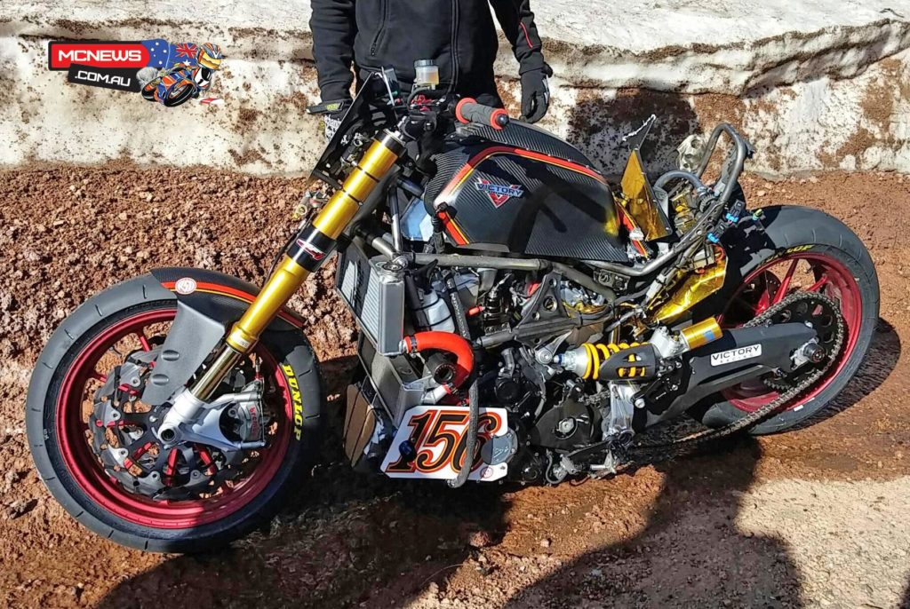 Victory Project 156 goes down at Pikes Peak