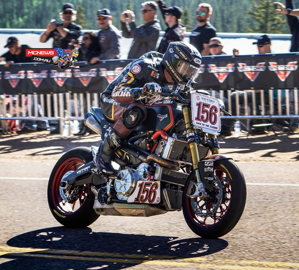 Victory Project 156 in action at Pikes Peak