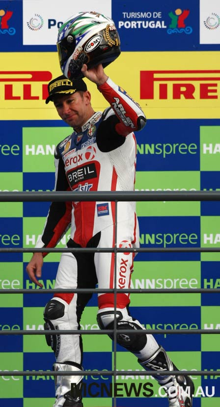 Troy Bayliss was the first rider to stamp his name on the new venue seven years ago, dominating 2008 proceedings on what was his swansong weekend before retiring.