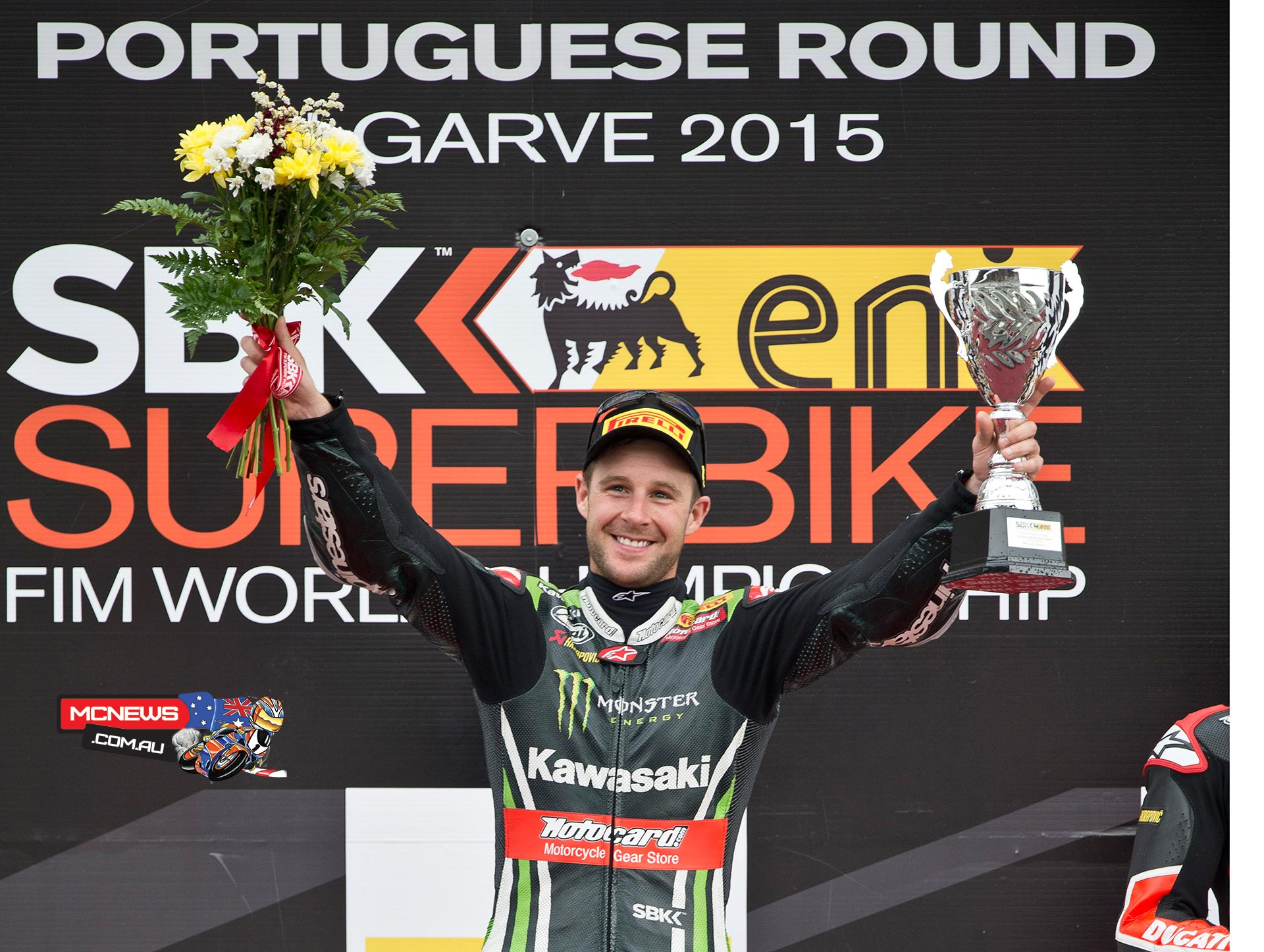 Jonathan Rea continues on his 2015 charge, taking the Portimao world superbike double, and bringing his haul to an impressive ten wins from 14 races for the season.