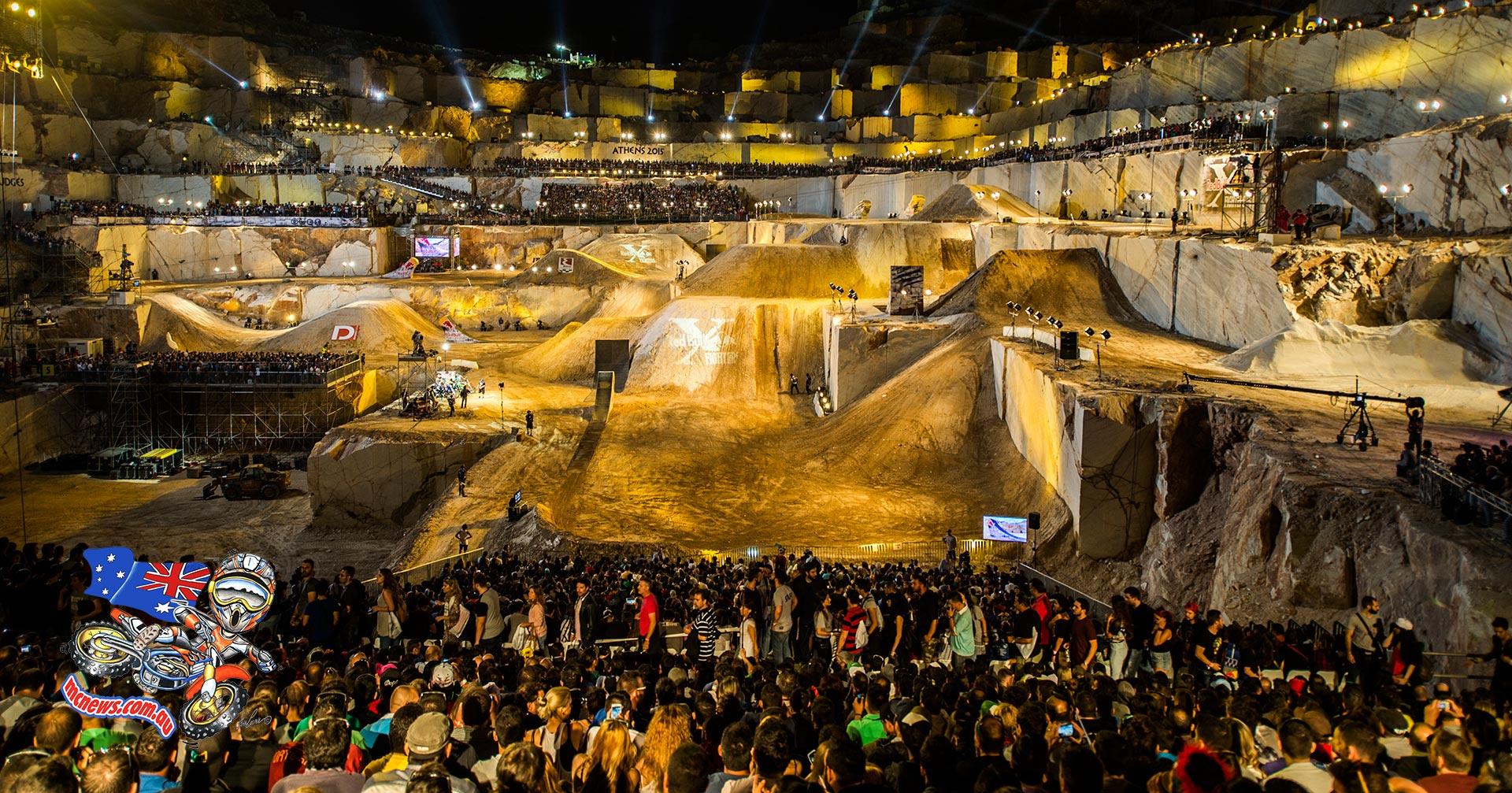 2015 Red Bull X-Fighters World Tour Athens