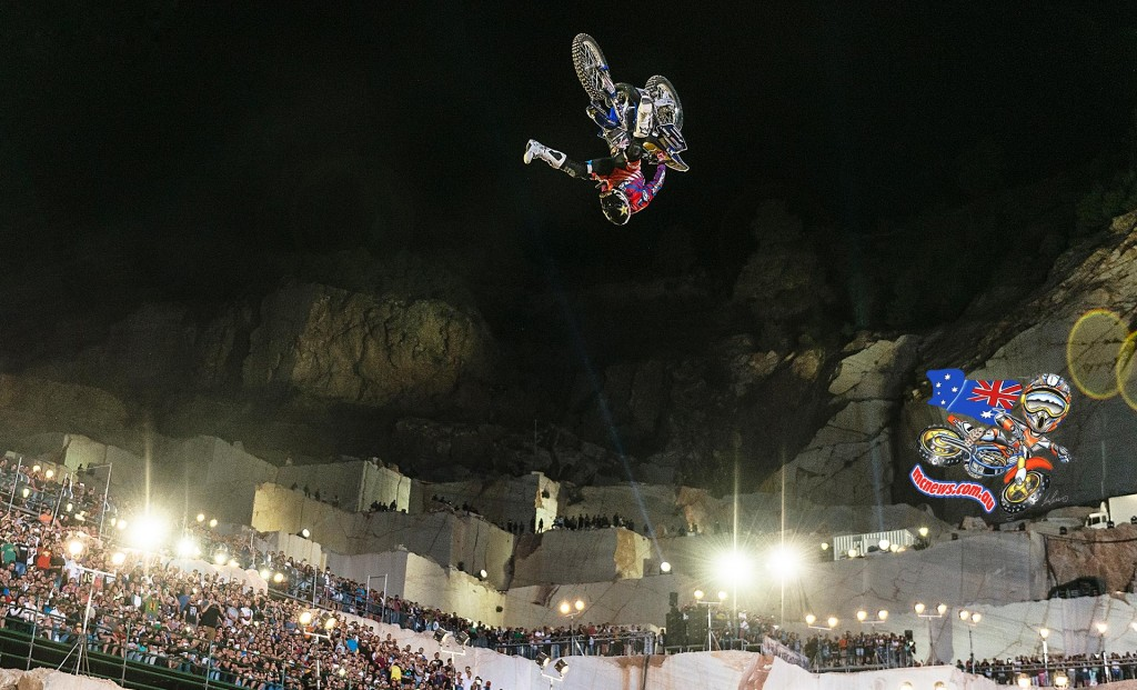 2015 Red Bull X-Fighters World Tour Athens - Clinton Moore