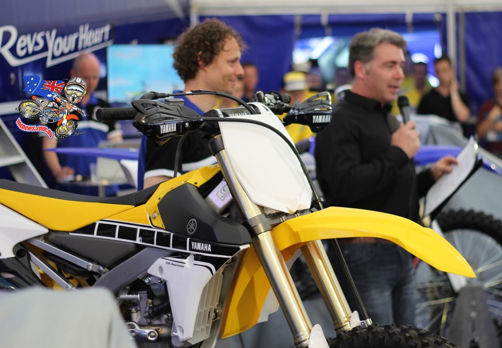 Yamaha Motor Europe presented the 2016 Yamaha off-road YZ motocross collection at Maggiora Grand Prix of Italy
