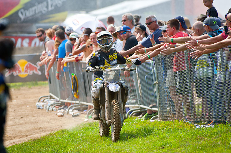 Martin completed a most unlikely 1-1 sweep at RedBud. (Photo: Matt Rice)