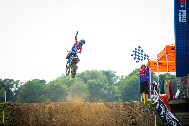 Things are clicking right now for Barcia and JGR Yamaha. (Photo: Amy Schaaf)