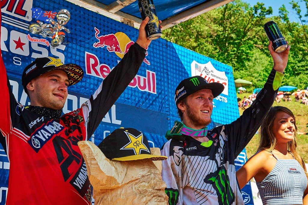 AMA Motocross 2015 - Round Eight - Spring Creek, Millville - Podium