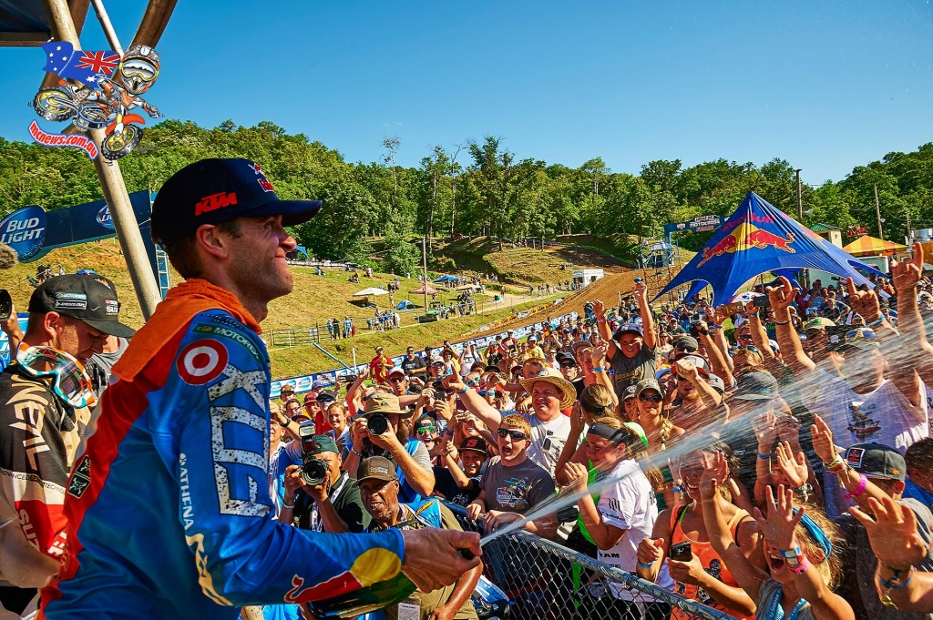AMA Motocross 2015 - Round Eight - Spring Creek, Millville - Podium - Ryan Dungey