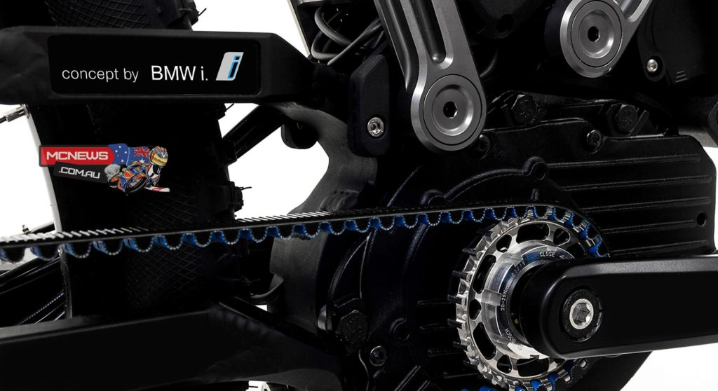 HNF Heisenberg XF1 with BMW i 4-joint drive unit swing arm