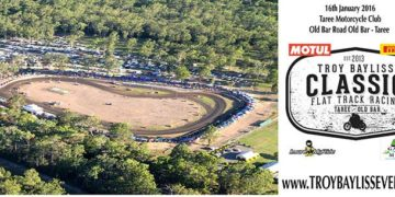 The 2016 Motul Pirelli Troy Bayliss Classic will be the first major race meeting to be held at Taree Motorcycle Club following upgrades to the track surface, fencing and speakers made possible as a result a $100,000.00 funding grant from the NSW Government.