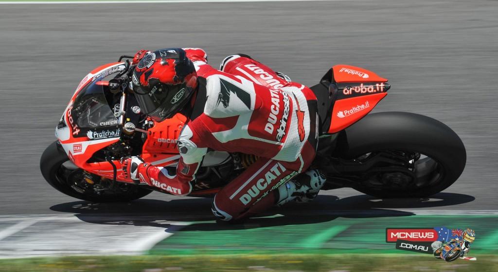 Carlos Checa completes Ducati Mugello Test