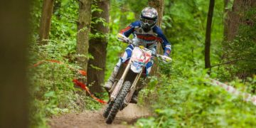 Daniel Milner has done what no other rider has been able to do in 2015, beat Kailub Russell in a one-on-one battle