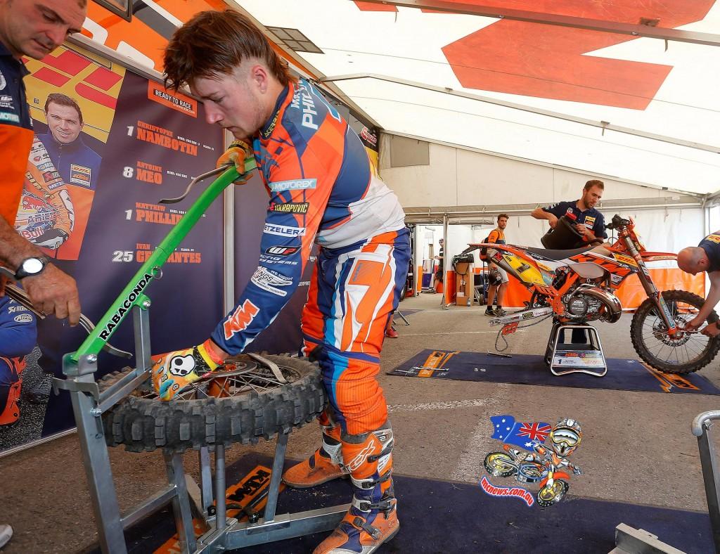 Enduro World Championship 2015 - Belgium - Matt Phillips