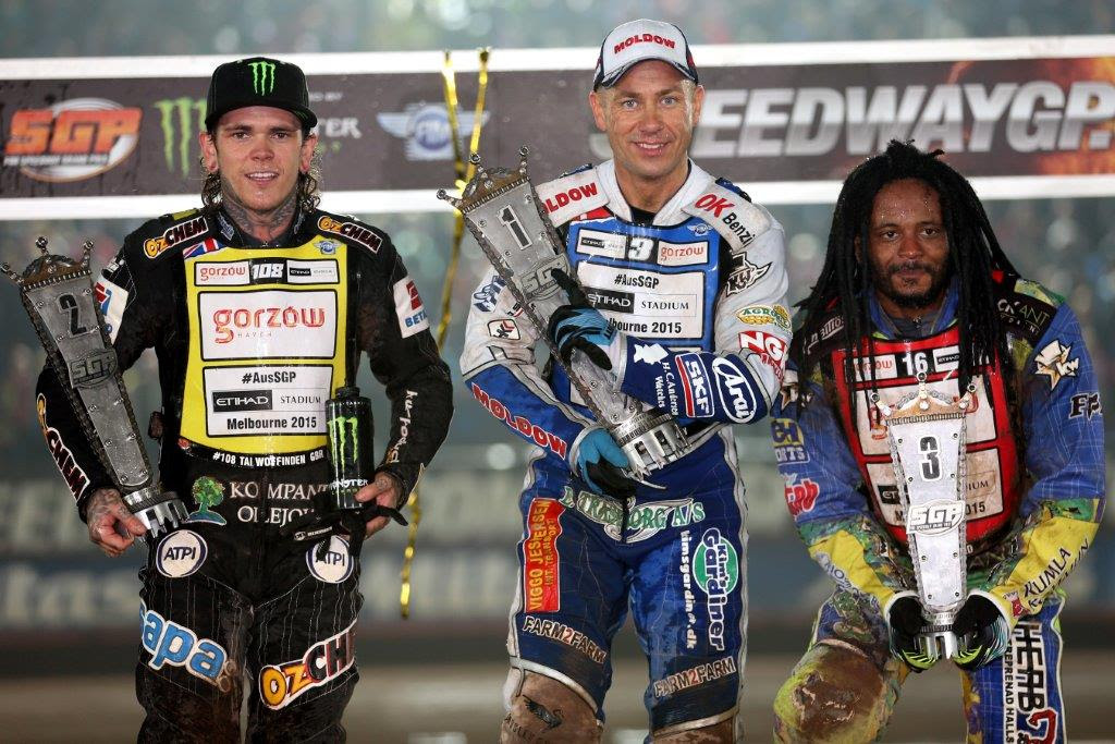 Nicki Pedersen wins Swedish FIM Speedway GP