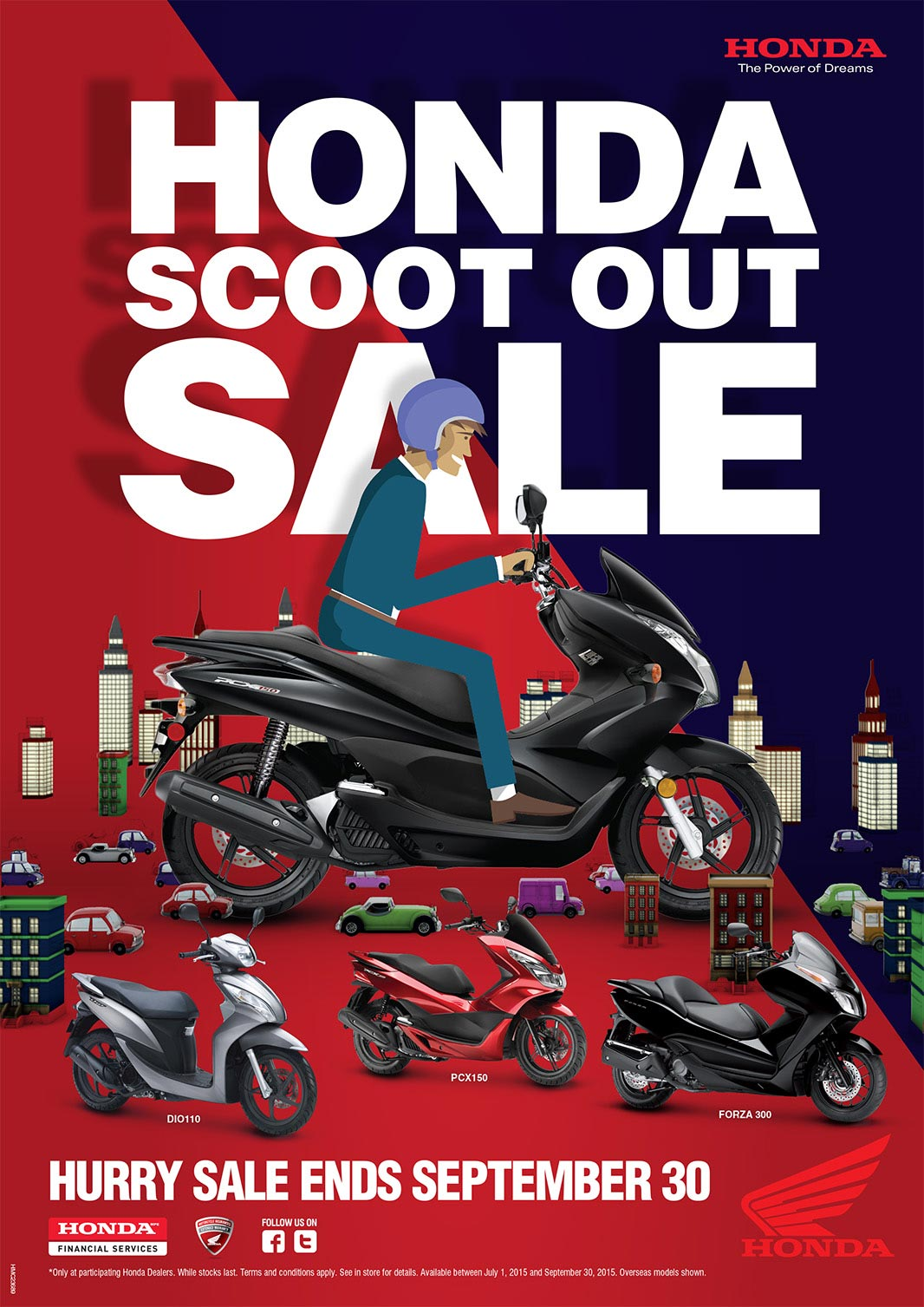 Honda Scoot Out Sale