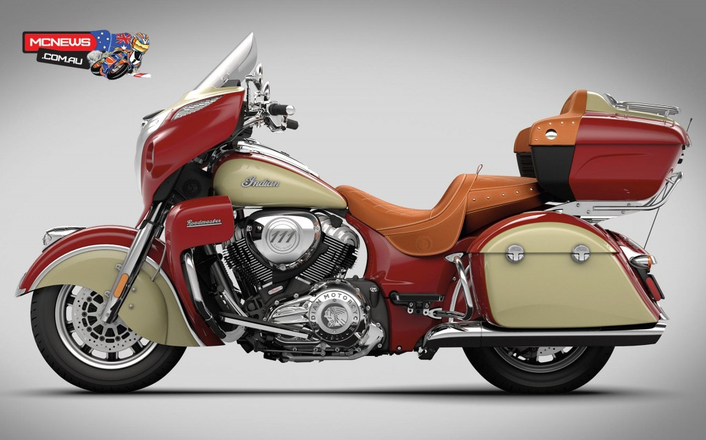 Indian sold 20 Roadmaster machines in the first three months of 2017 within Australia