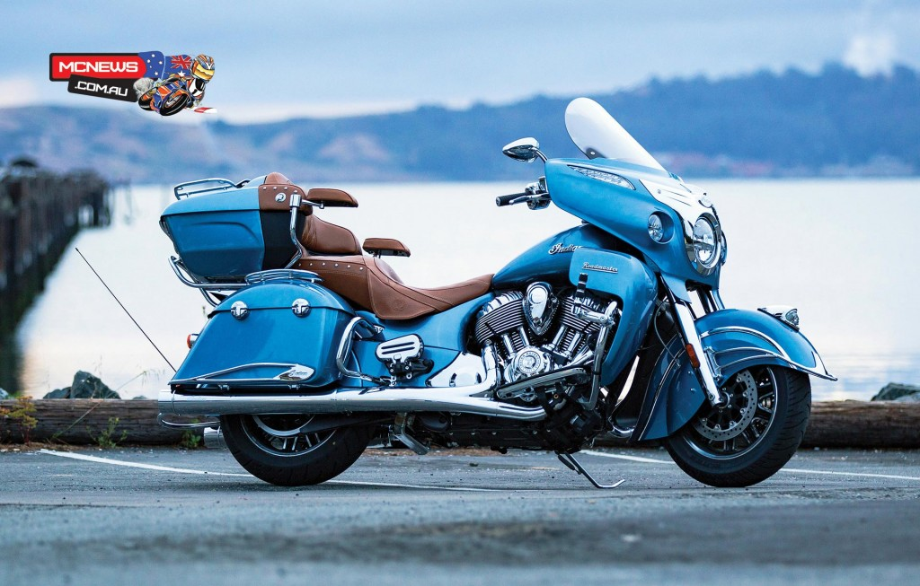 Indian Roadmaster 2016 (with accessories)