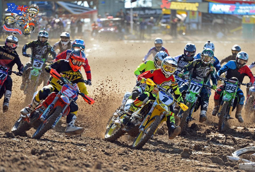 MX Nationals 2015 - Round Six - Raymond Terrace - Kirk Gibbs and Matt Moss