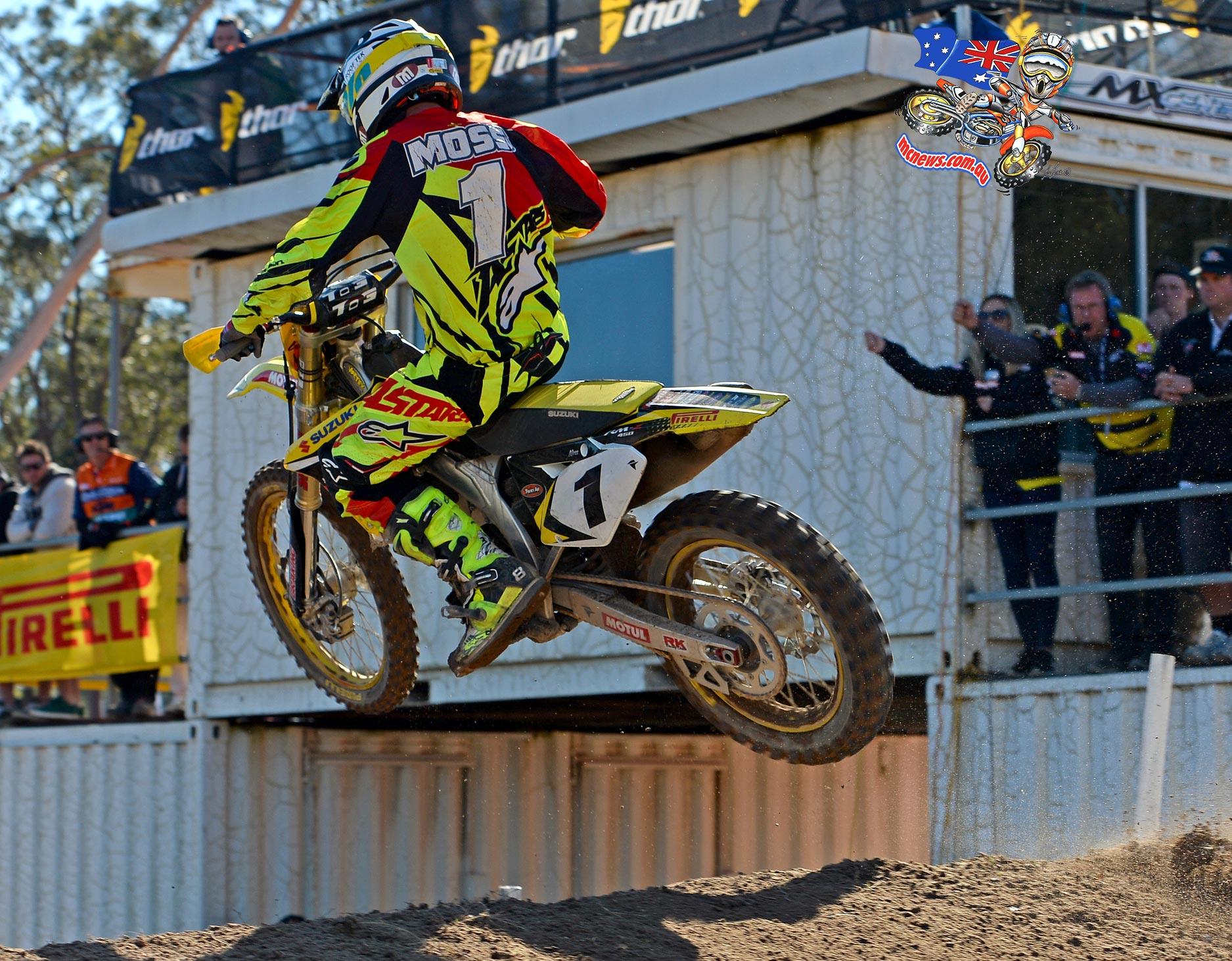 MX Nationals 2015 - Round Six - Raymond Terrace - Matt Moss