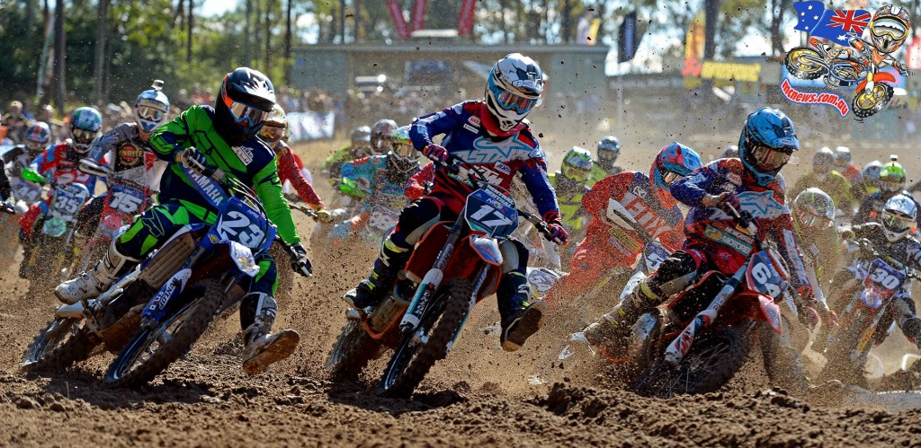MX Nationals 2015 - Round Six - Raymond Terrace - Caleb Ward #17