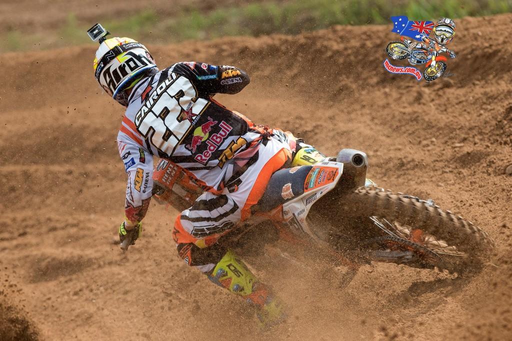 MXGP - 2015 - Rnd 12 - Kegums, Latvia - Antonio Cairoli