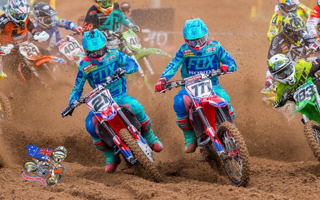 MXGP - 2015 - Rnd 12 - Kegums, Latvia - Evgeny Bobryshev and Gautier Paulin