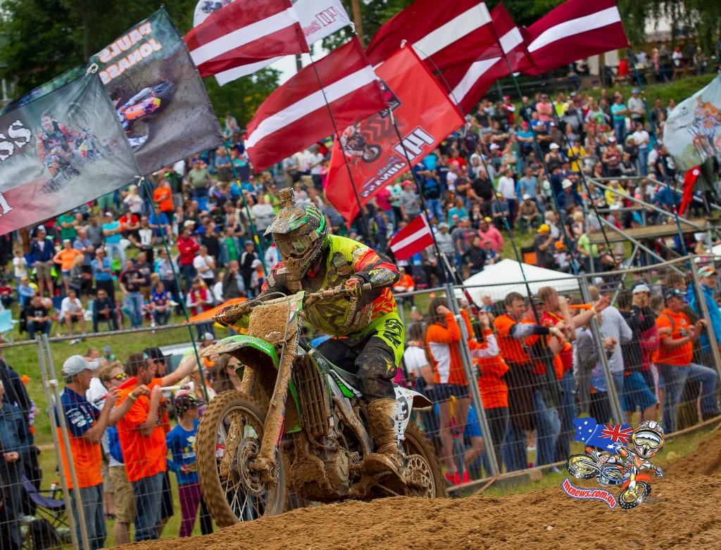 MXGP - 2015 - Rnd 12 - Kegums, Latvia - Max Anstie
