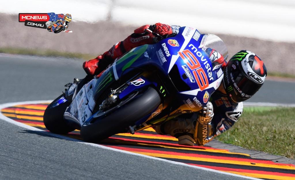 MotoGP 2015 - Round Nine - Sachsenring - Jorge Lorenzo