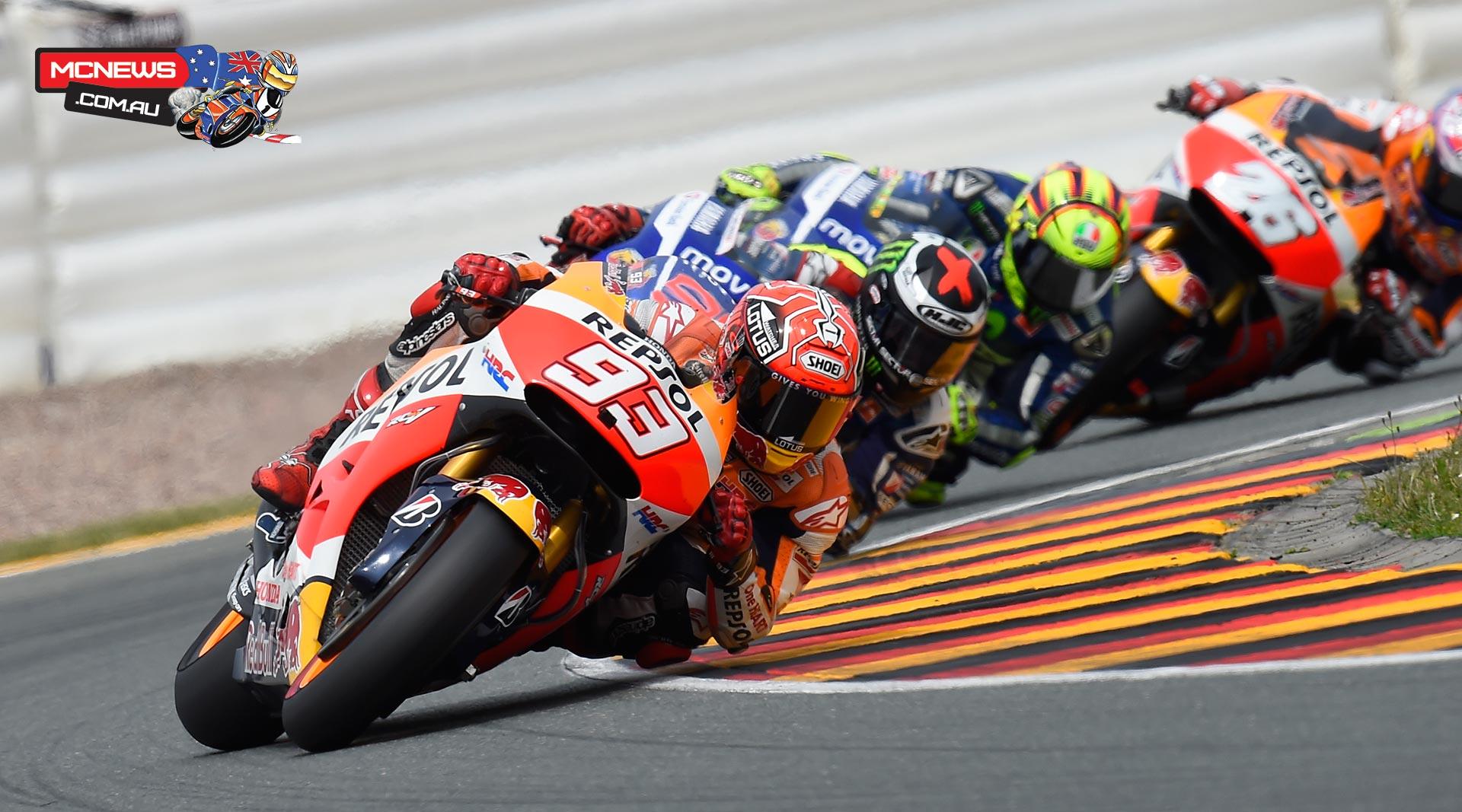 MotoGP 2015 - Round Nine - Sachsenring - Marc Marquez