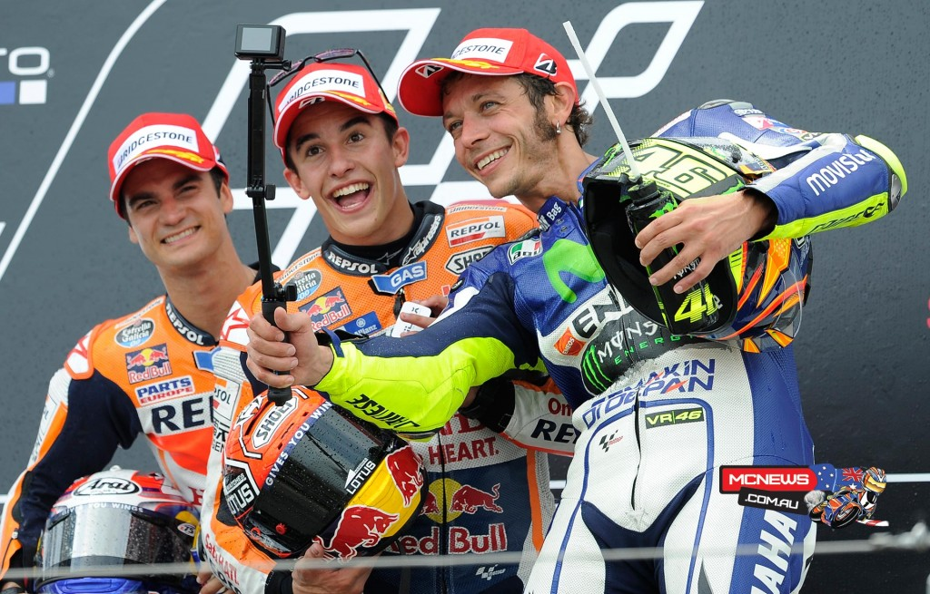 MotoGP 2015 - Round Nine - Sachsenring -  Podium - MotoGP