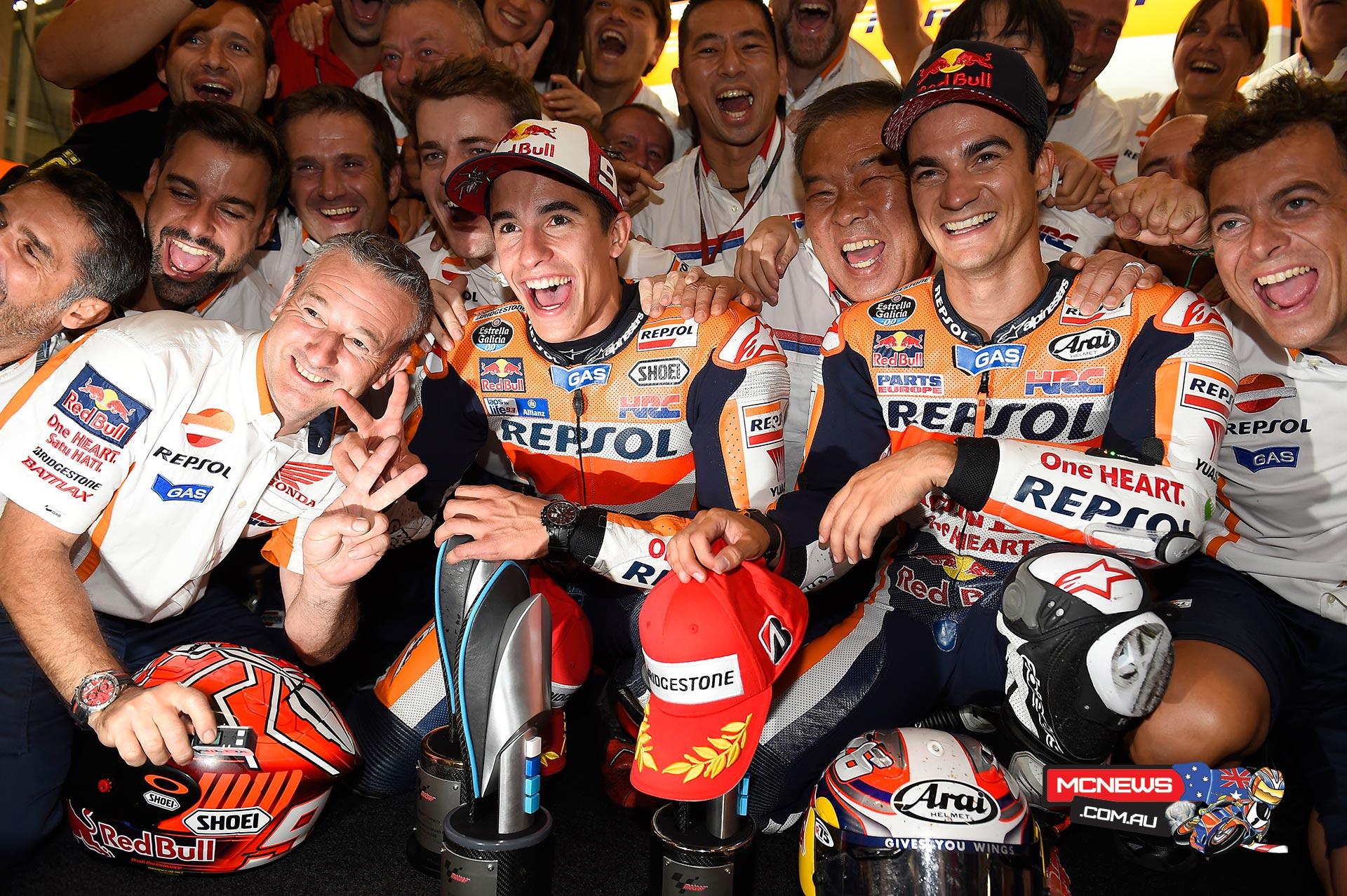 MotoGP 2015 - Round Nine - Sachsenring - Repsol Honda 1-2