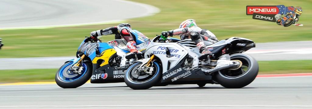 MotoGP 2015 - Round Nine - Sachsenring - Scott Redding and Nicky Hayden