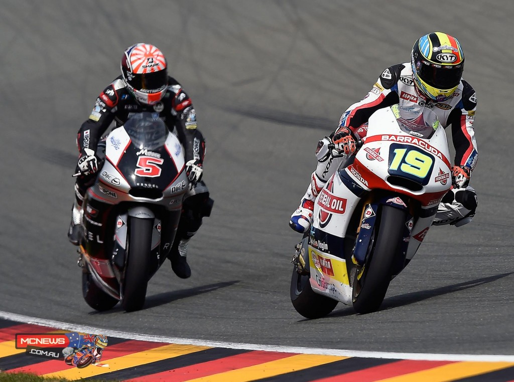 Xavier Simeon (BEL) - The Belgian rider claims his first ever victory in his sixth Moto2 season.