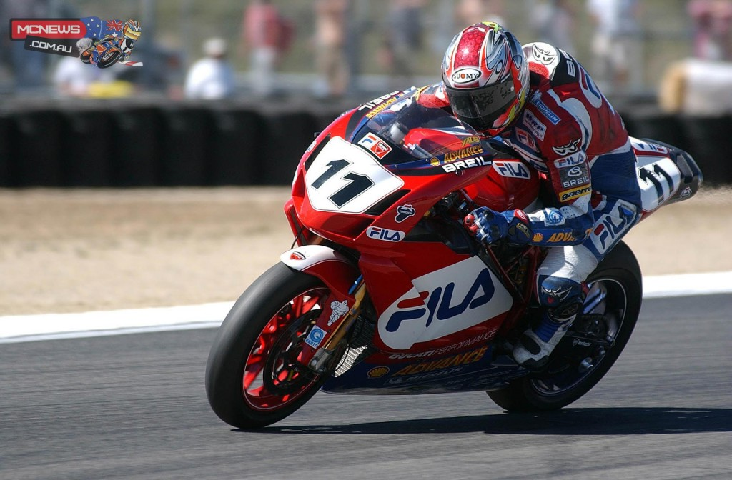 Ruben Xaus (SPA) claimed race 2 victory at Laguna Seca 2003