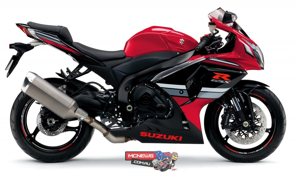 The 30TH Anniversary Edition GSX-R1000 ABS will be available in a striking Pearl Red/Gloss Black colour scheme for a recommended price of $18,490* on sale September.
