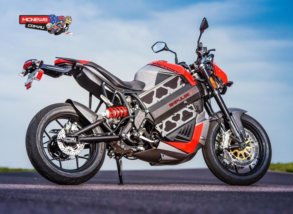 Victory Empulse TT Electric Motorcycle