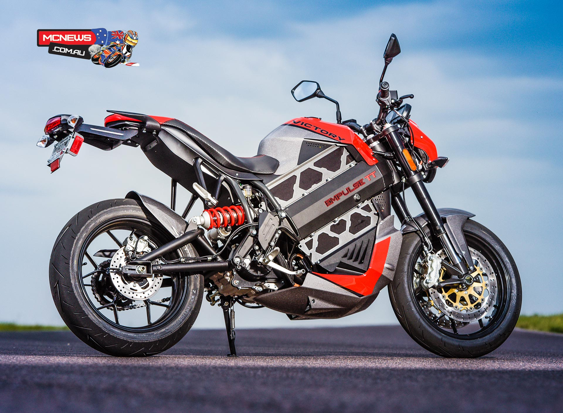 Victory Empulse TT Electric Motorcycle