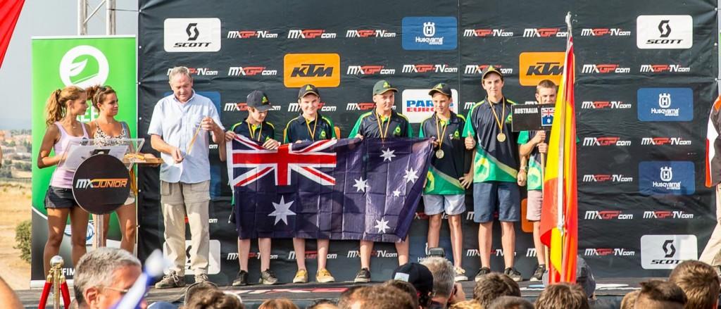 FIM World Junior Motocross Championships - Team Australia