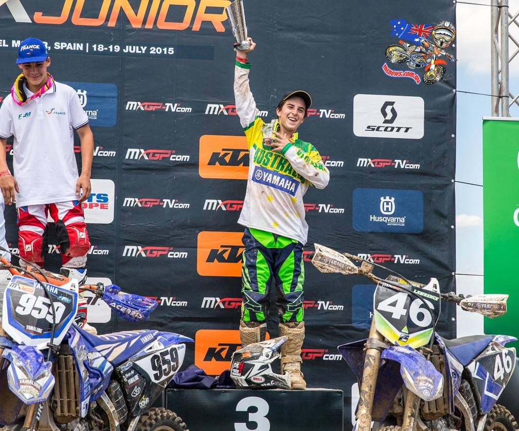 FIM Junior World Motocross Championship - Hunter Lawrence