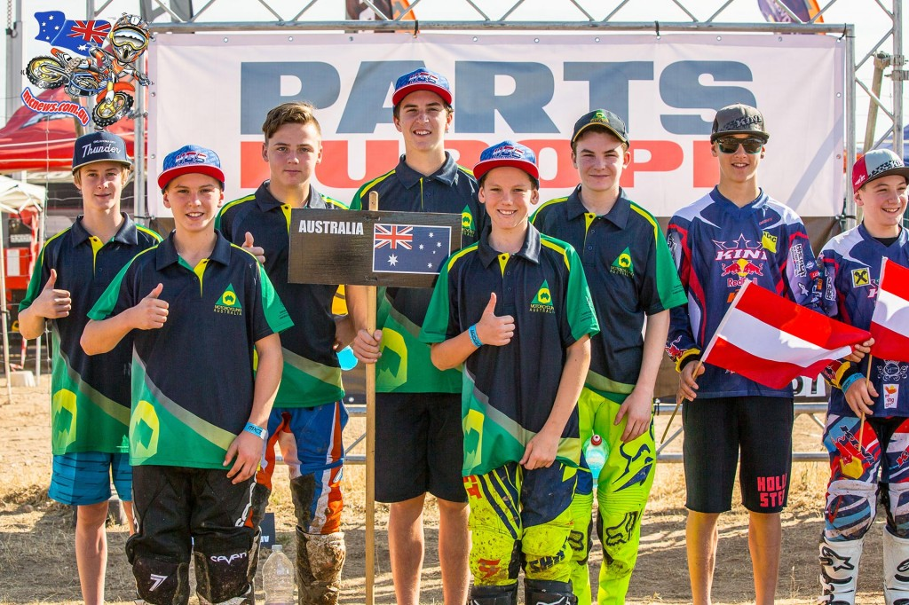 FIM Junior World Motocross Championship - Team Australia