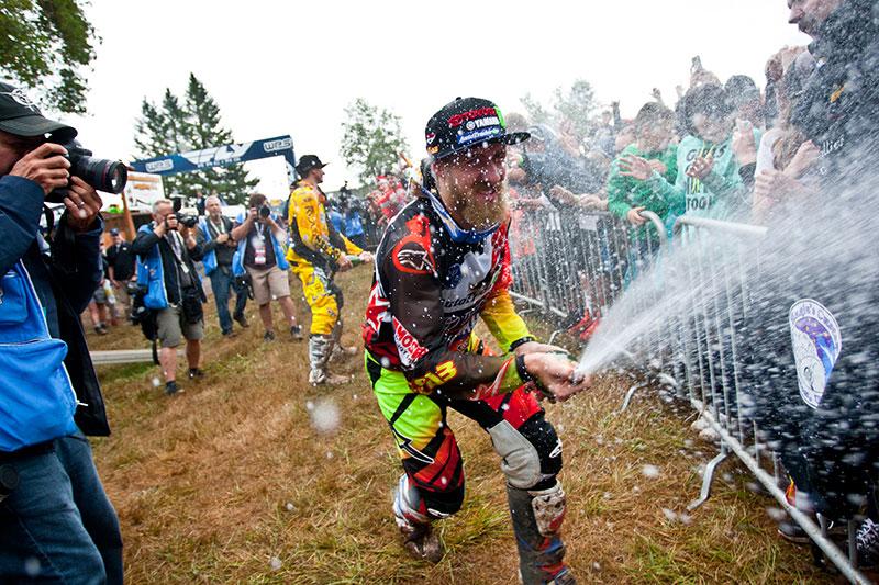 Barcia has had plenty of reason to celebrate lately. (Photo: Matt Rice)