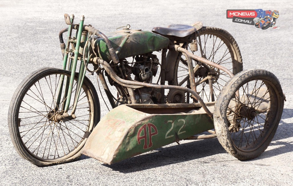 1927 Harley-Davidson exceptionally rare factory FHA 8-valve racer – one of a handful of surviving examples