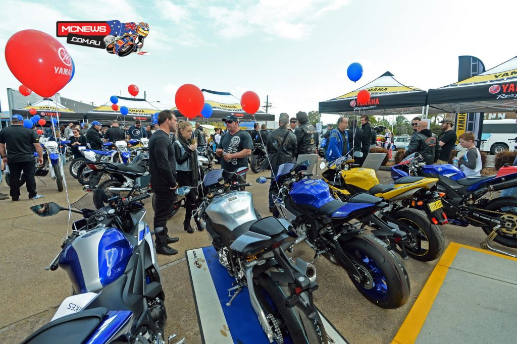 Celebrating in order to highlight Yamaha's history of innovation over 60 years