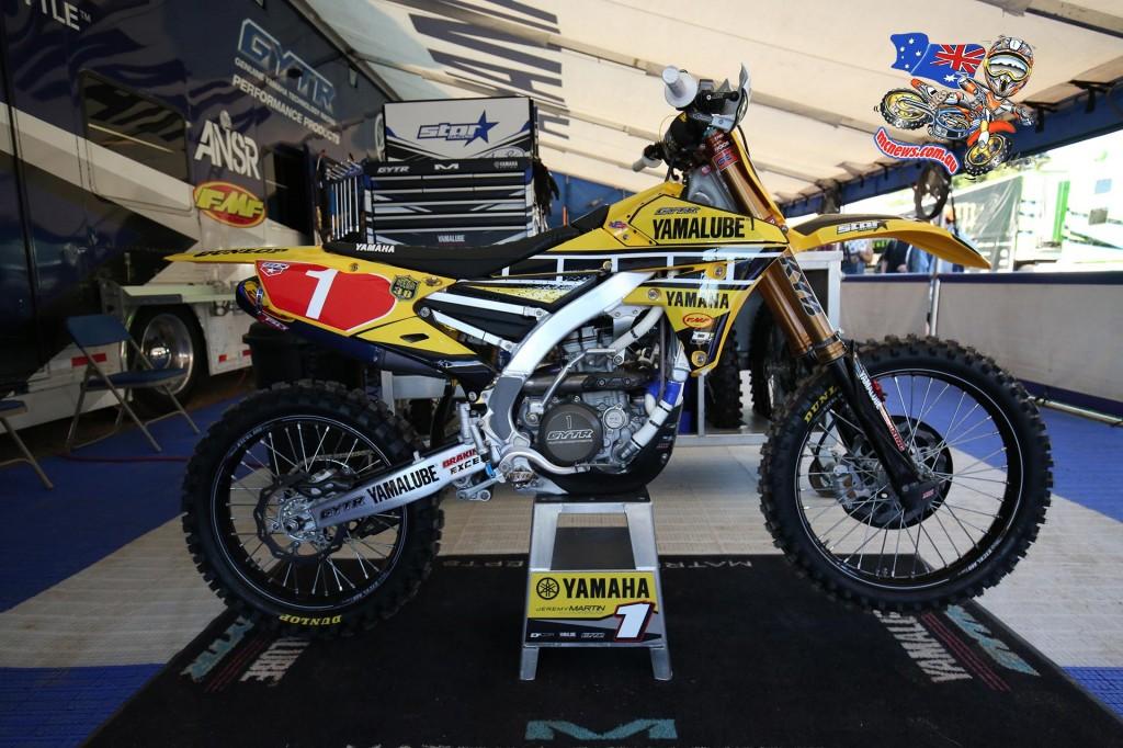 Jeremy Martin's Yamaha YZ250F