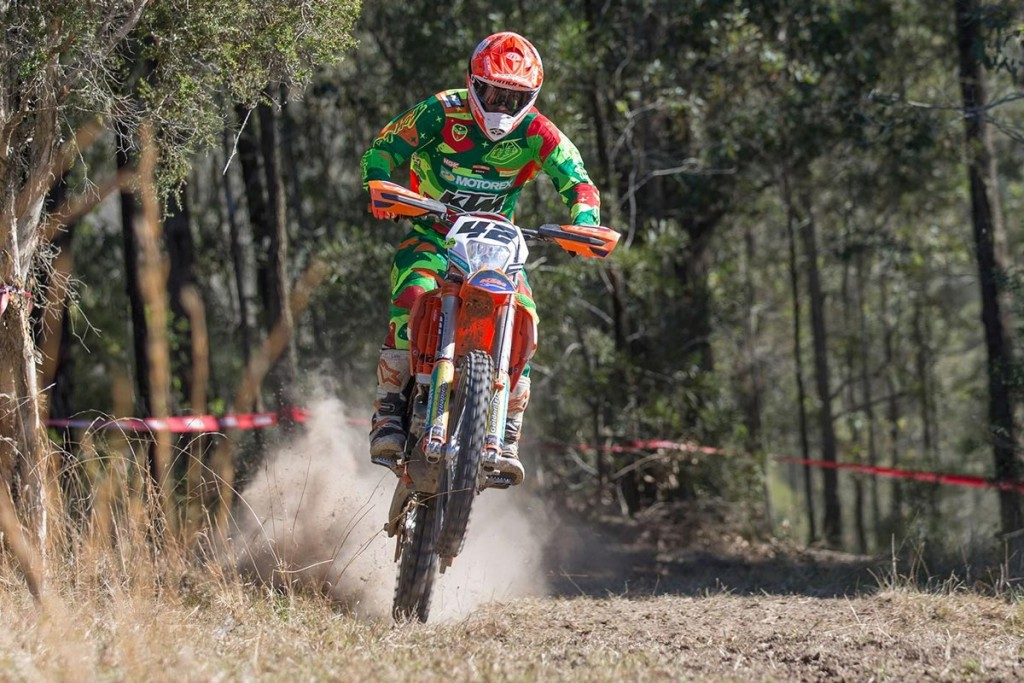 Tye Simmonds completed his maiden AORC championship with a stellar top-five outright.