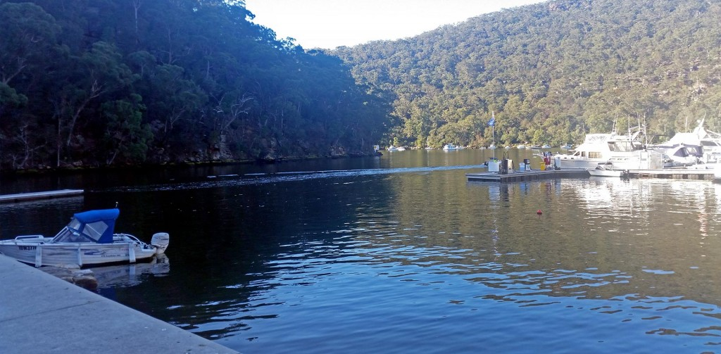 Berowra Waters – On the Hawkesbury, just North of Hornsby. Nice place to relax.