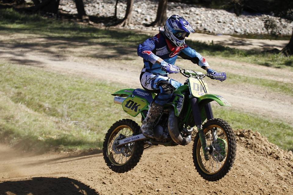 Darryll King took out the Pro Class and the Twin Shock Class