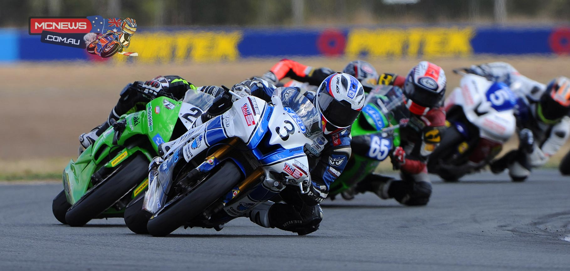 Callum Spriggs, Rick Olson - YRD Supersport 2015 - Queensland Raceway